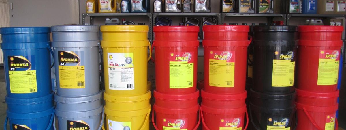 Shell oliën en vetten